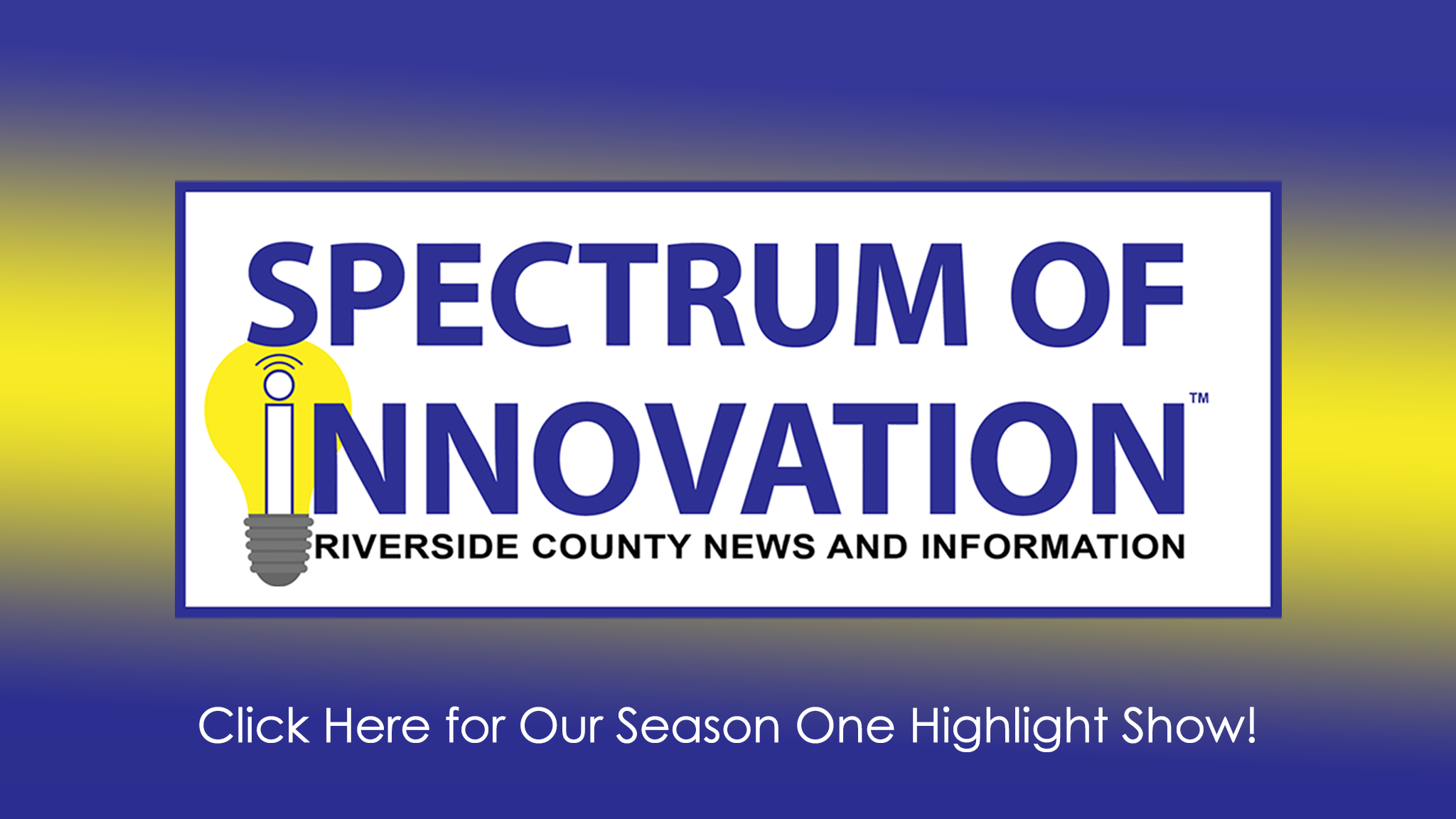 Spectrum of Innovation Live Stream episodes