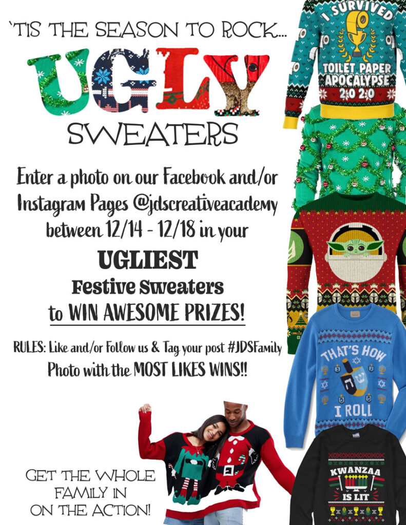 Ugly Sweater Contest 2021